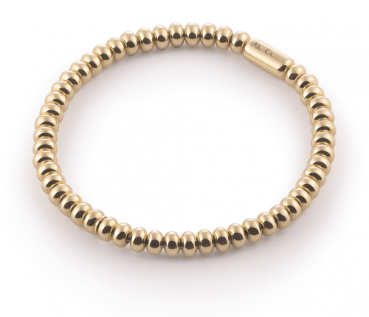 Armband Stretchy Gelbgold