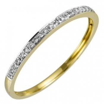 Memoiere Ring Gelbgold Brillant 0,081ct C42-11133